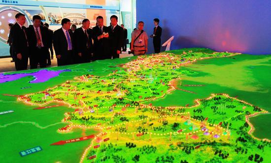 内蒙古电网沙盘