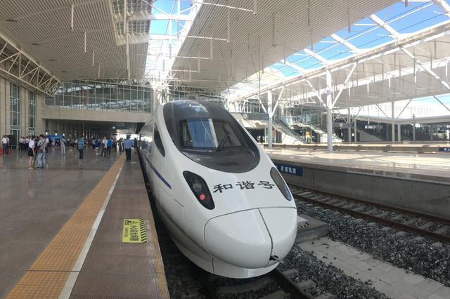 蒙小浪带你体验 内蒙古首条高铁首发
