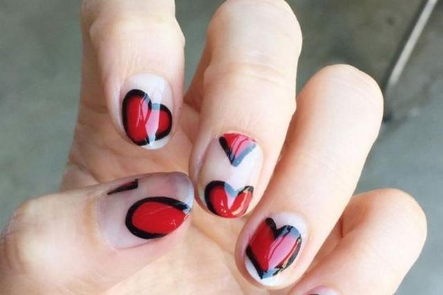 七夕就在眼前 做一个漂亮的指甲靓丽赴约