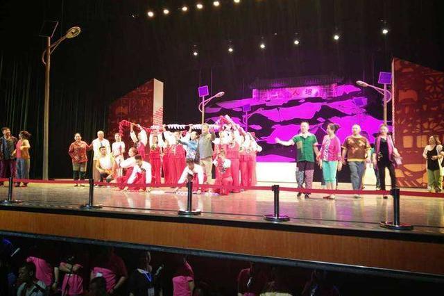内蒙古民族艺术剧院举行选派赴外留学生汇报演出