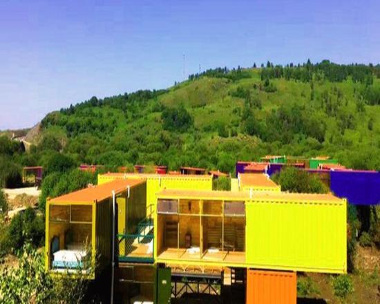 集装箱主题酒店——追随时代潮流又融入自然气息的特色