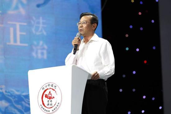 市委常委、宣传部部长王雪峰致辞