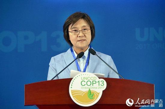 内蒙古自治区主席布小林致辞。