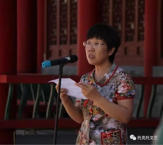 托县县委常委、宣传部长郭美桃宣布开展