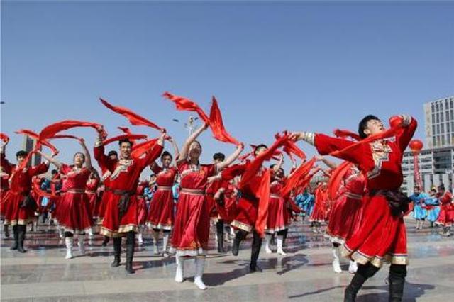 内蒙古全区参加体育锻炼群众人数逐年增加