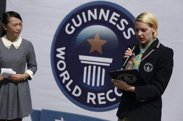 5名中国运动员获体育吉尼斯世界纪录荣誉