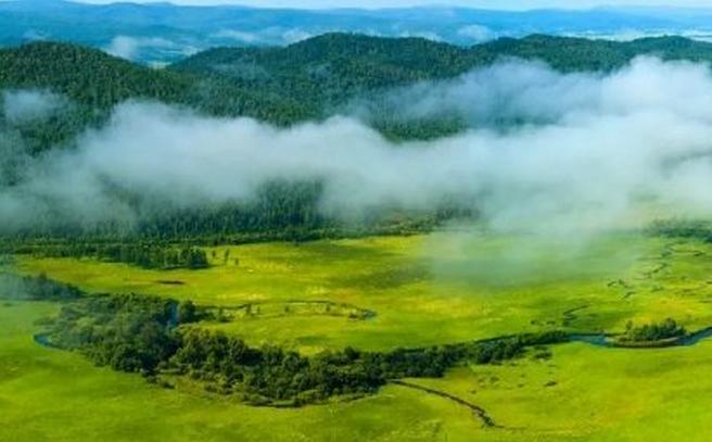走进呼伦贝尔就走进了五彩画卷,湖水的颜色,大地的颜色,风的颜色……那光怪陆离的彩色,明快鲜亮,感受呼伦贝尔25万平方公里的绚丽。呼伦贝尔是绿色的。夏天的呼伦贝尔草原藏着千万种不同的绿。被阳光晒绿的草原拂过天空,又洒满来时的路。