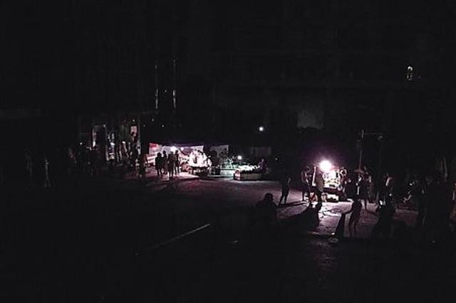 小区停电 紧急抢修及时恢复供电