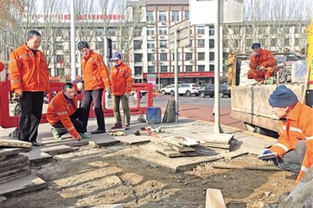 呼和浩特市整修190条道路