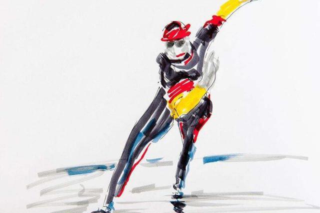 全国速滑锦标赛:内蒙古选手摘银夺铜