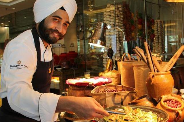 呼和浩特香格里拉大酒店印度美食节 邀青城食客和Jolly一起探