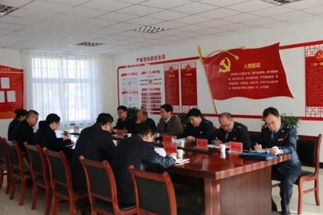 五原县国税局提高依法治税水平