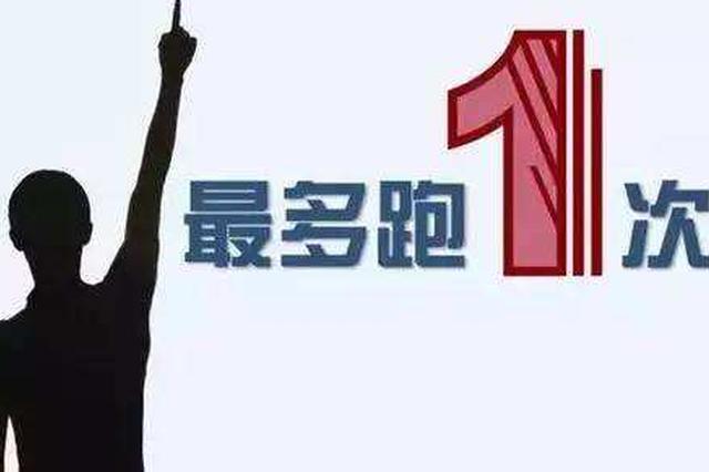 """清水河县国税局将""""只跑一次""""改革进行到底"""
