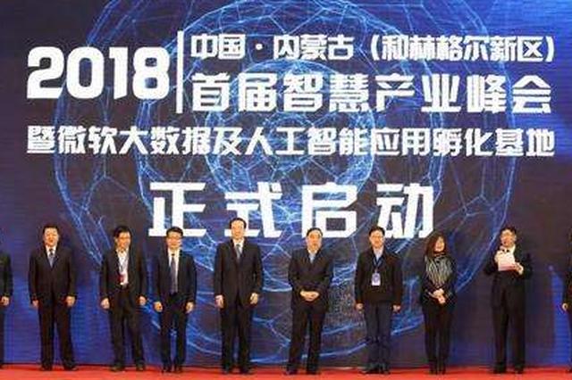 内蒙古和林格尔新区大数据及人工智能应用孵化基地推介会在京