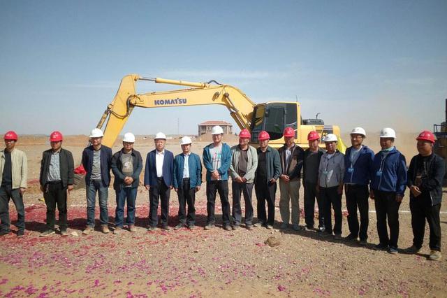 乌力吉口岸PPP建设项目开工