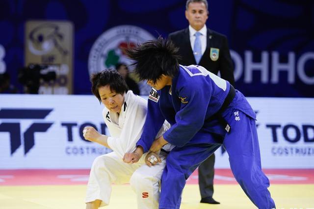 世界柔道大奖赛(呼和浩特站)首日赛况