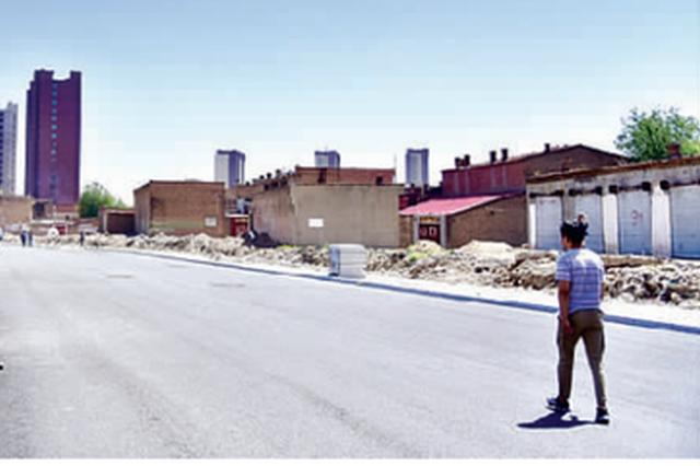蛋厂路改造后即将通车 解决周边居民出行烦恼