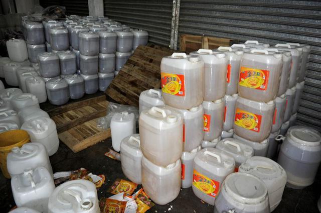 """首府去年收集处置""""地沟油""""初产品近2000吨"""