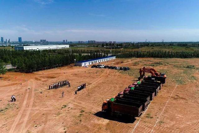 产业转移 动能转化 内蒙古科试防爆车辆项目开工