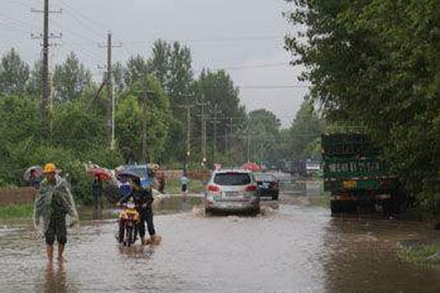 内蒙古部分地区遭遇强降水并引发洪涝等灾害
