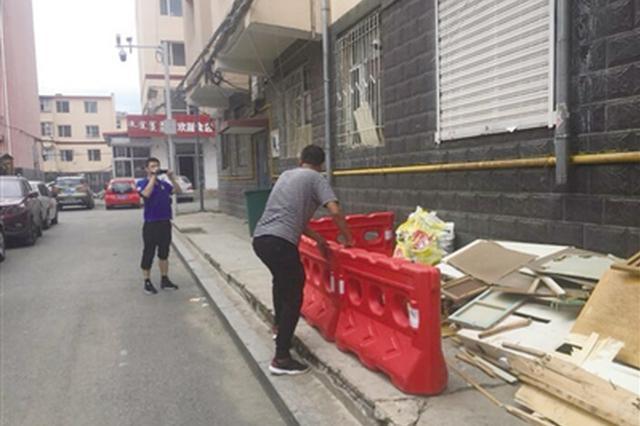 呼和浩特市一社区巧妙解决居民杂物堆放难题