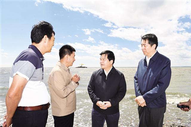 李纪恒:从严从实从快抓好呼伦湖生态环境综合治理