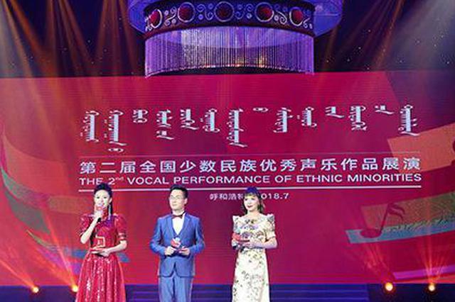 第二届全国少数民族优秀声乐作品展演开始