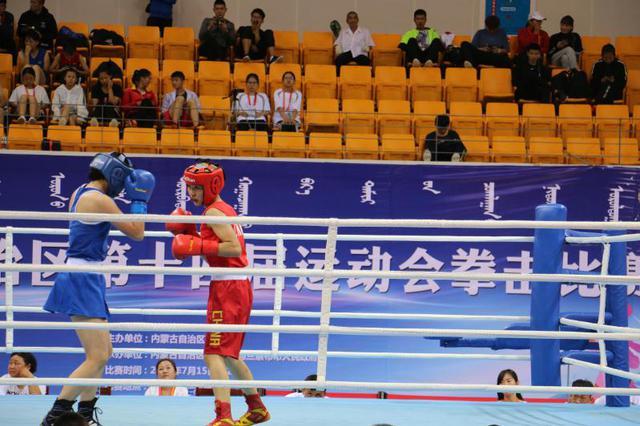 内蒙古自治区第十四届运动会拳击比赛在乌兰察布举行