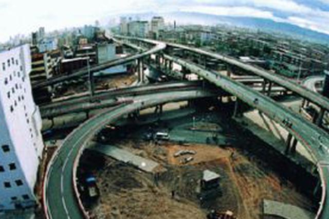 绕城高速白塔和昭君收费所因施工关闭出口超宽车道