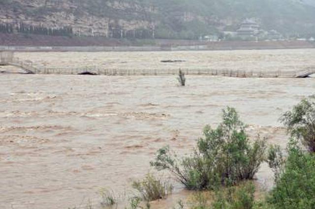 大范围降水天气使黄河巴彦淖尔段8处险工出现险情