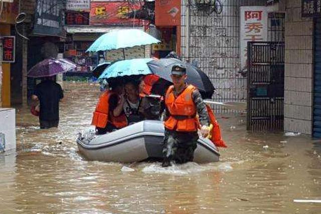 强降雨致水库水位暴涨 陆军某边防旅奋力救援