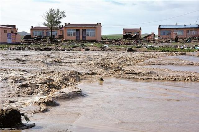 李纪恒批示:包头市固阳县达茂旗遭遇强降雨引发洪灾