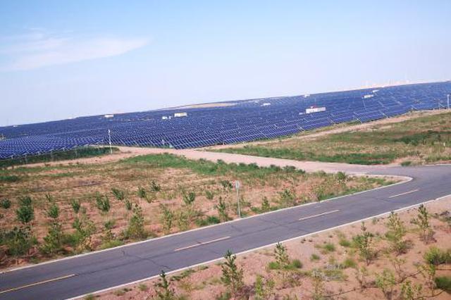 """中国第七大沙漠发展""""光伏产业"""" 推动清洁能源发展"""