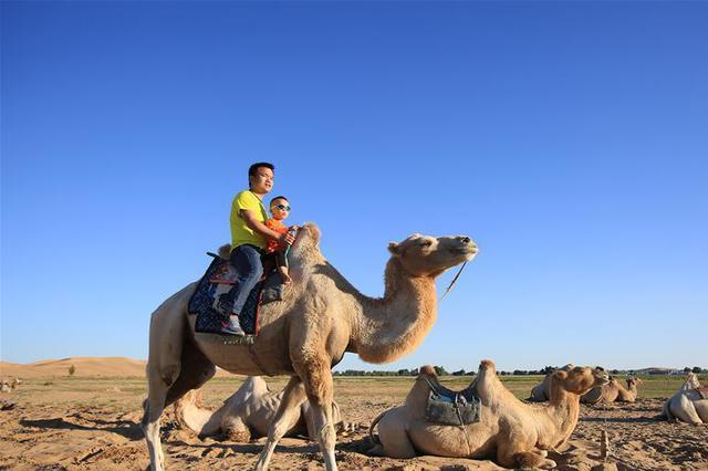 沙漠景区进入旅游旺季