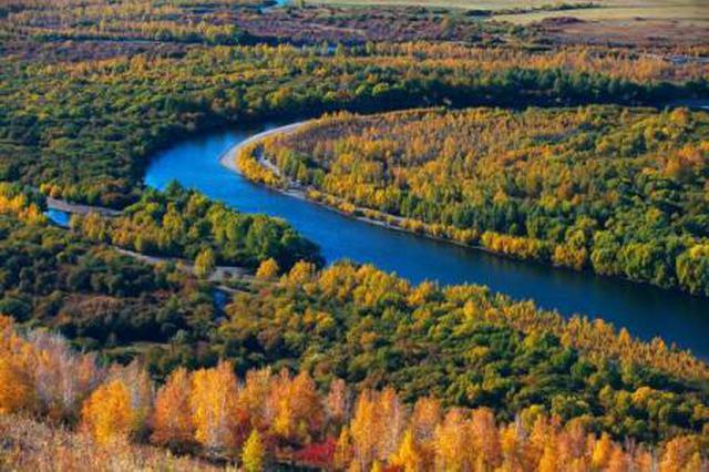 图里河镇由春直接入秋 大兴安岭仅2.7摄氏度