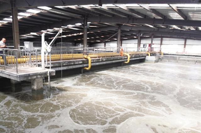 沙尔沁工业区污水处理厂投入运行 日处理2万吨