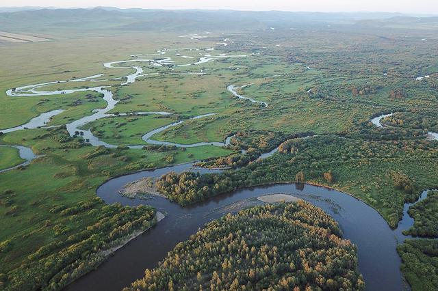 """航拍壮美""""亚洲第一湿地"""""""