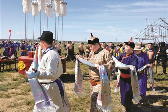 达茂旗第29届那达慕大会开幕 欢腾草原拥抱八方宾客