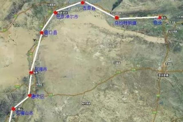 包头至银川高铁宁夏段项目 正式开工建设
