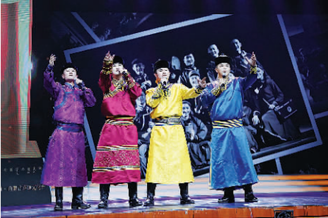 第十五届中国·内蒙古草原文化节闭幕 白玉刚出席