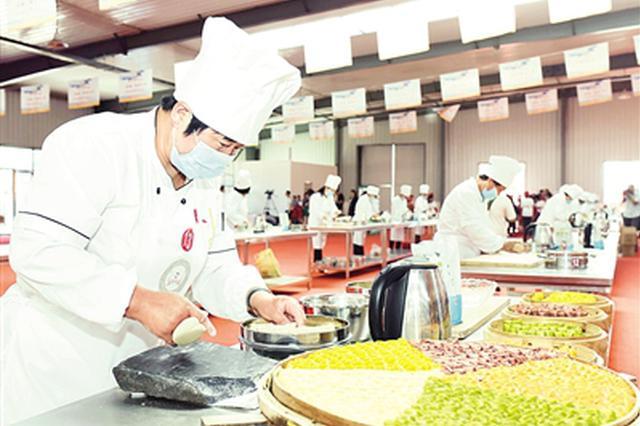 呼和浩特市武川县第六届莜面美食技能大赛开幕