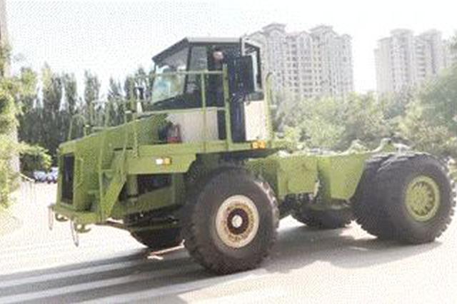国内首台混合动力矿用车 在北方股份诞生