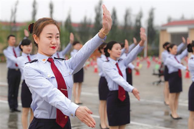 内蒙古全区高速公路行业举行技能大比武