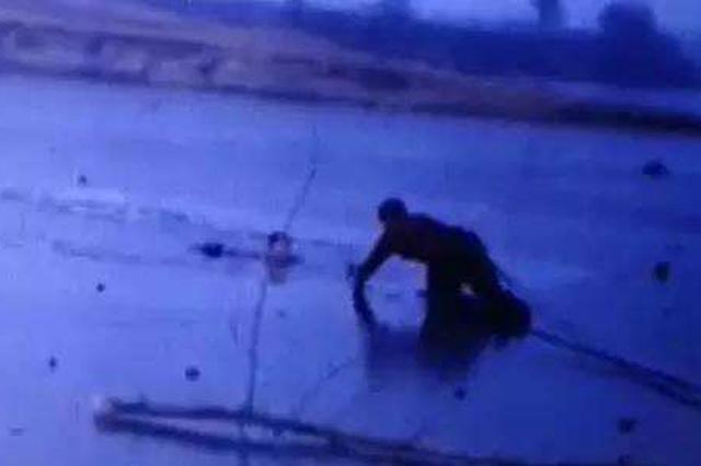 找鱼杆落水男子昨日被打捞出水 确认已死亡