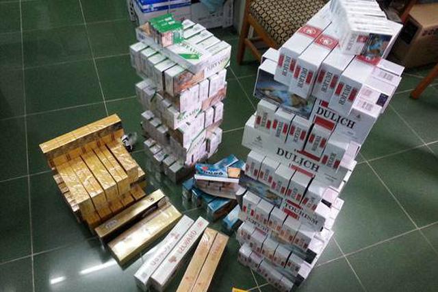 销售储存数千条假冒劣质卷烟 一嫌犯落网
