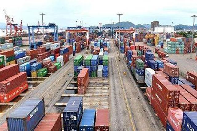 1~8月内蒙古外贸进出口总值665亿多 同比增长3.1%