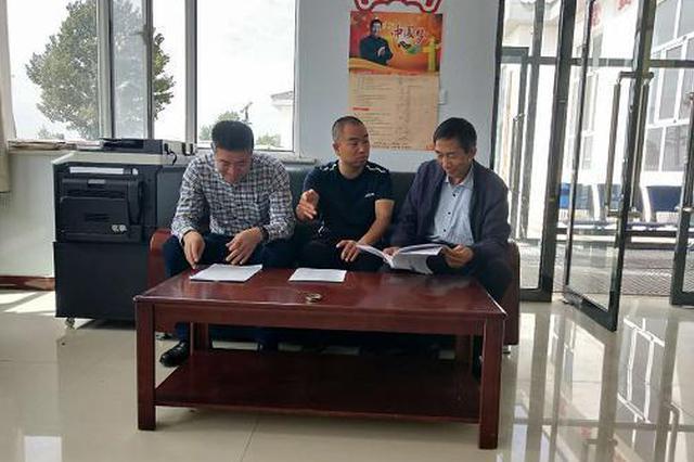 呼和浩特市科技局节前慰问驻村第一书记