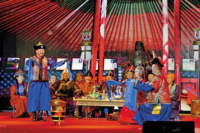 """""""中国·首届民族婚礼文化节""""在巴彦淖尔市临河区"""