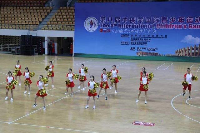 第八届中俄蒙国际青少年运动会在鄂尔多斯开幕