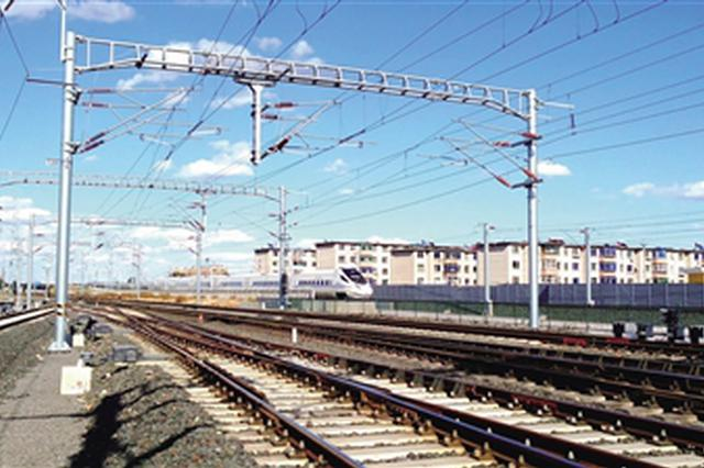 内蒙古至东北地区首条高铁联调联试进入再次提速阶段